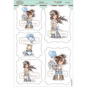 Hobby House HHWS004 Wee Stamps Topper Sheet, 8.3 by 12.2-Inch, Hopeful Multi-Colored