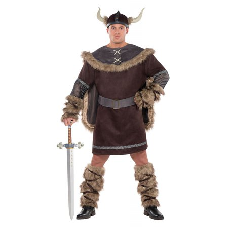 Viking Warrior Adult Costume - XX-Large - Viking Princess Warrior