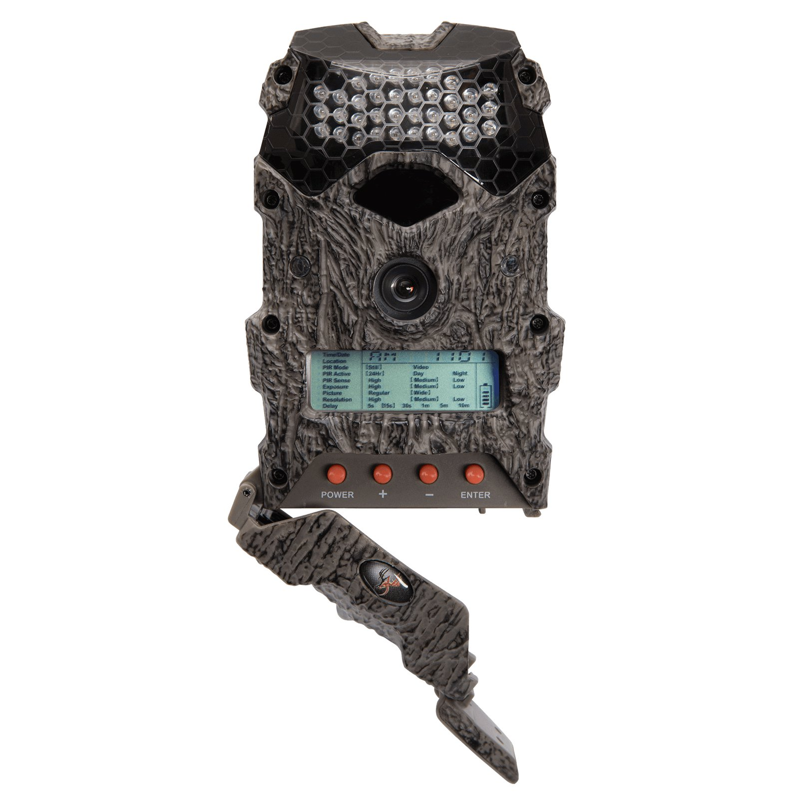 Wildgame Innovations Mirage 16 16MP 720p Video Hunting Game Trail Camera, Camo - image 1 of 5