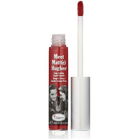 the Balm Meet Matte Hughes Long Lasting Liquid Lipstick - Adoring 0.25 oz Lip (Bh Liquid Lipstick Long Wearing Matte Lipstick Lust)