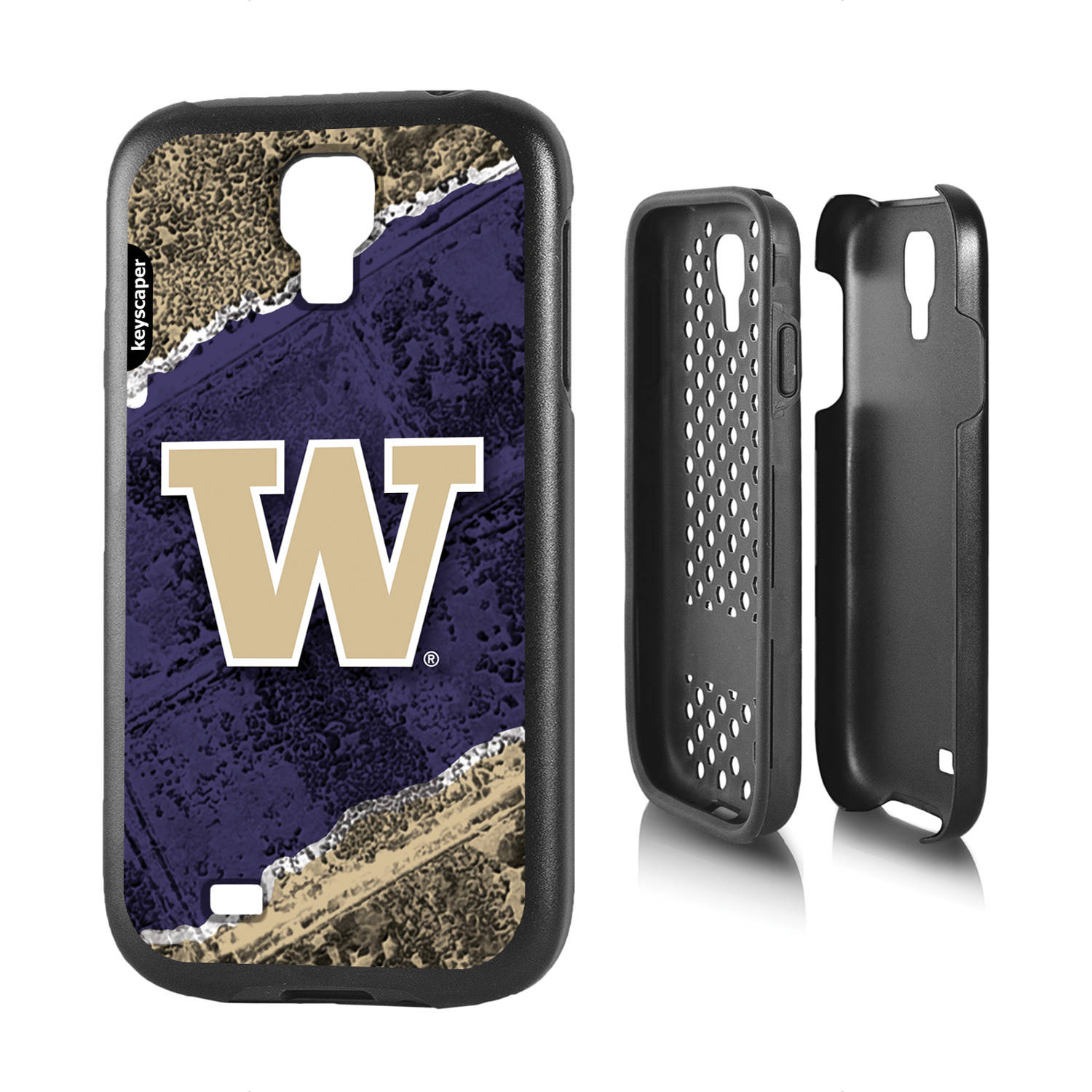 Washington Huskies Galaxy S4 Rugged Case