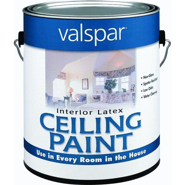 Valspar Latex Flat Ceiling Paint