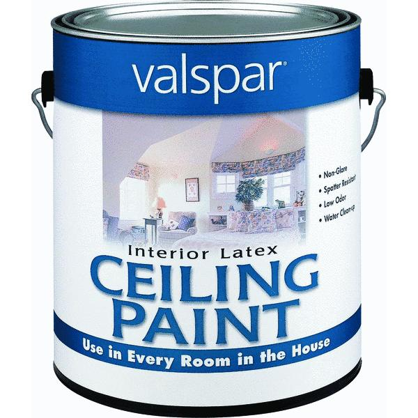 Valspar Latex Flat Ceiling Paint