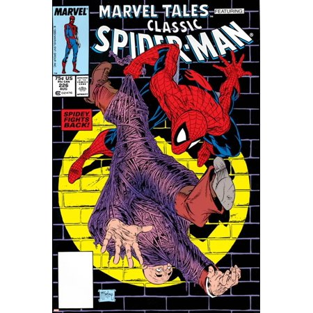 Marvel Tales: Spider-Man No.226 Cover: Spider-Man Print Wall Art By Todd McFarlane (Marvel Tales Spider)