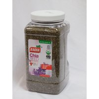 Badia Organic Chia Seeds, 5.5lbs