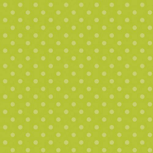 100% Cotton Fabric For Quilting And Crafting By Emma And Mila From The Hoot Hoot Collection: Polka Dots In Green