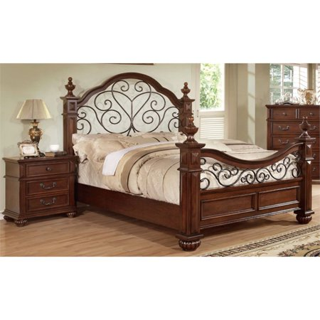 Furniture of America Hauline 2 Piece California King Bedroom Set