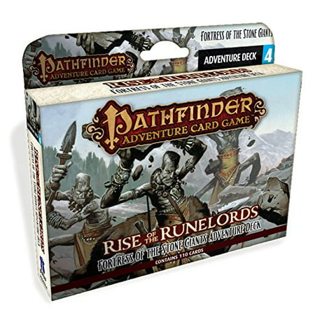 Pathfinder Adventure Card Game Rise Of The Runelords Deck 4 Fortress Of The Stone Giants Adventur