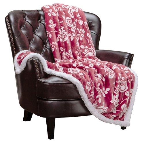 Winston Porter Acushnet Reversible Sherpa Fleece Blanket