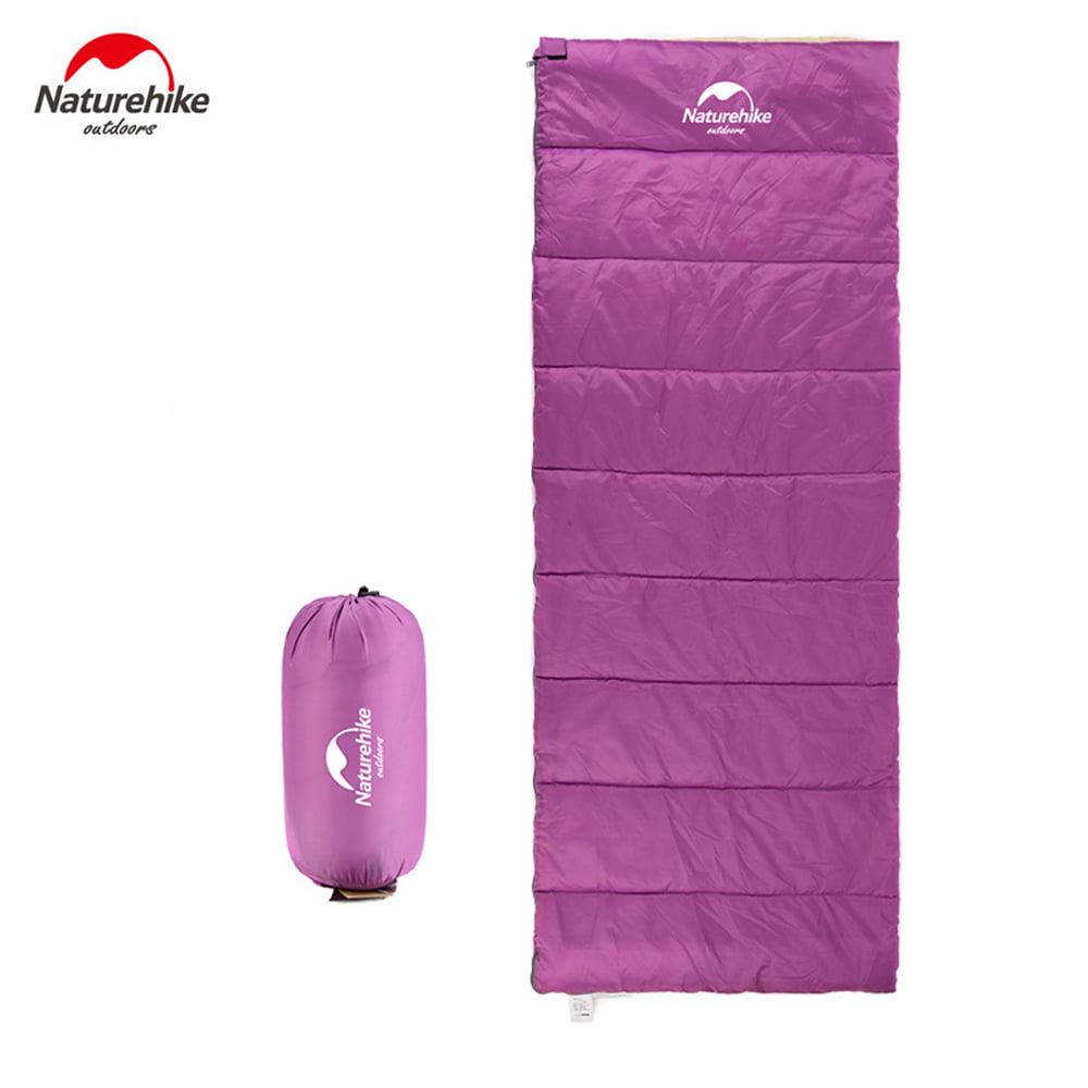 New Naturehike Ultralight Sleeping Bag Travel Outdoor Camping Hiking 3-Season