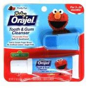 Baby Orajel Naturals Teething Pain Relief Gel Fruit