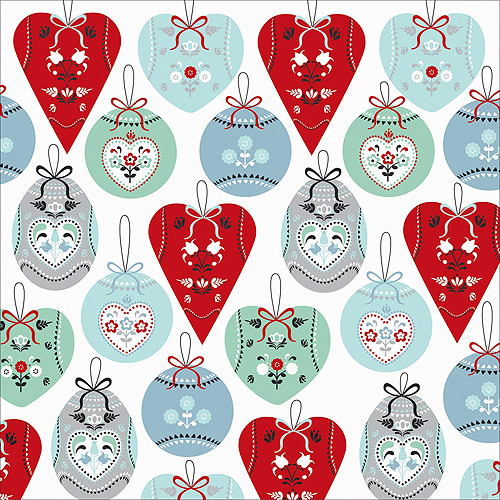 "North Pole Foil Cardstock 12"" x 12"", Silver Bells"