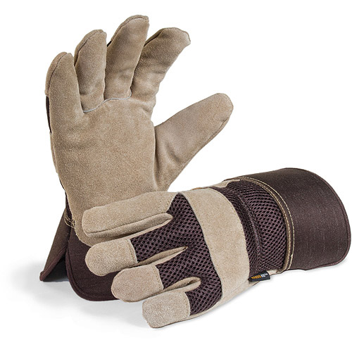 Hands On Premium Suede Leather Palm Work Glove