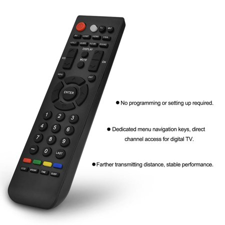 Qiilu Replacement Smart TV Remote Control Television