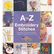 Search Press Books A-Z of Embroidery Stitches