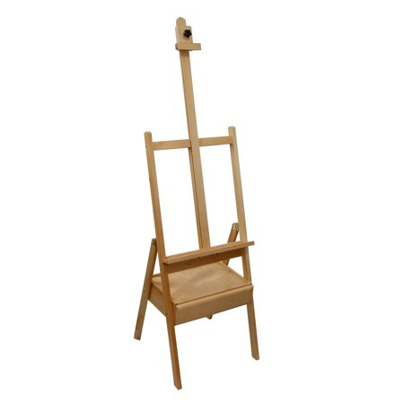 US Art Supply Studio H-Frame Wood Artist Painting Floor Easel with ...