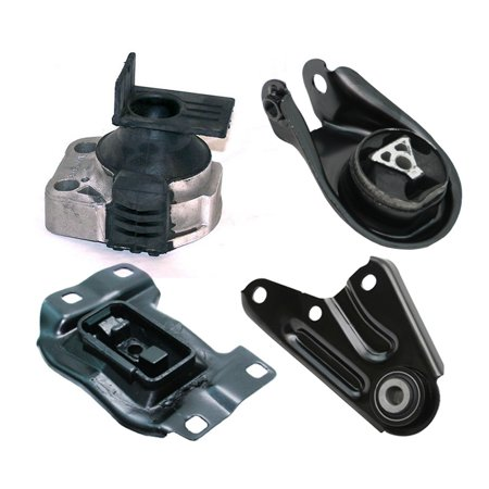 K2086 Fits 2006-2010 Mazda 5 2.3L Engine Motor & Trans Mount Set 4pcs : A5312, A4405, A4418, A4404