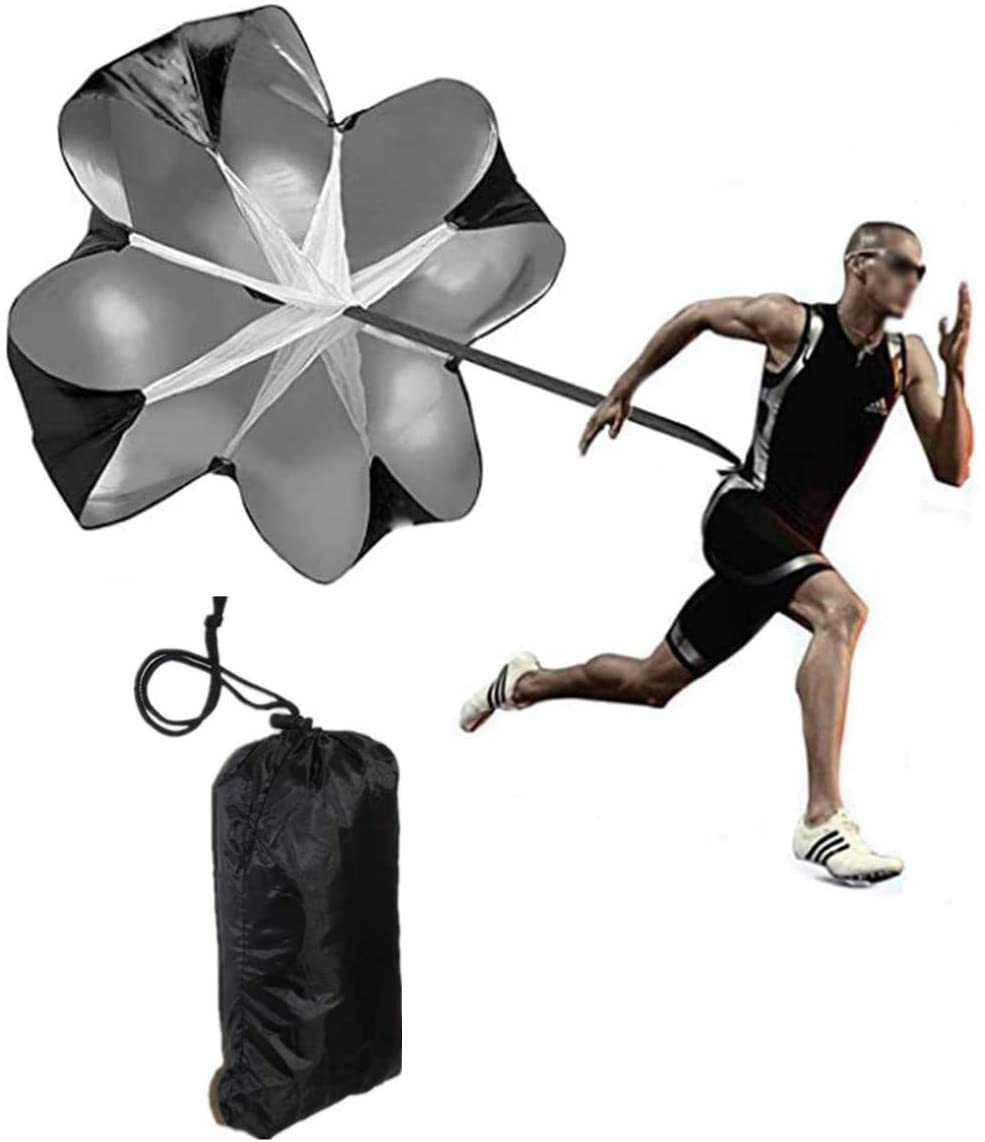 Football Training Equipment Speed Chute With Adjustable Waist Harness For Youth