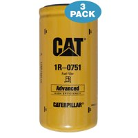 3 Pack - Caterpillar 1R-0751 Advanced High Efficiency Fuel Filters