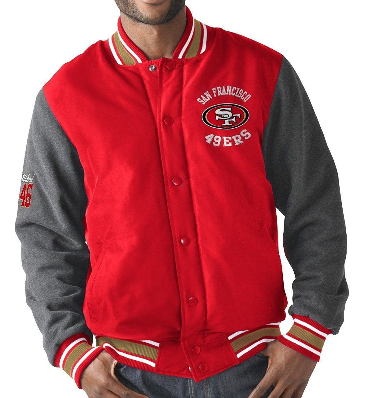 "San Francisco 49ers ""Original"" Premium Varsity Jacket by"