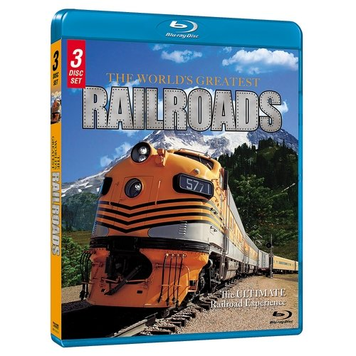 The World's Greatest Railroads: The Ultimate Railroad Experience (Blu-ray) (Anamorphic Widescreen)