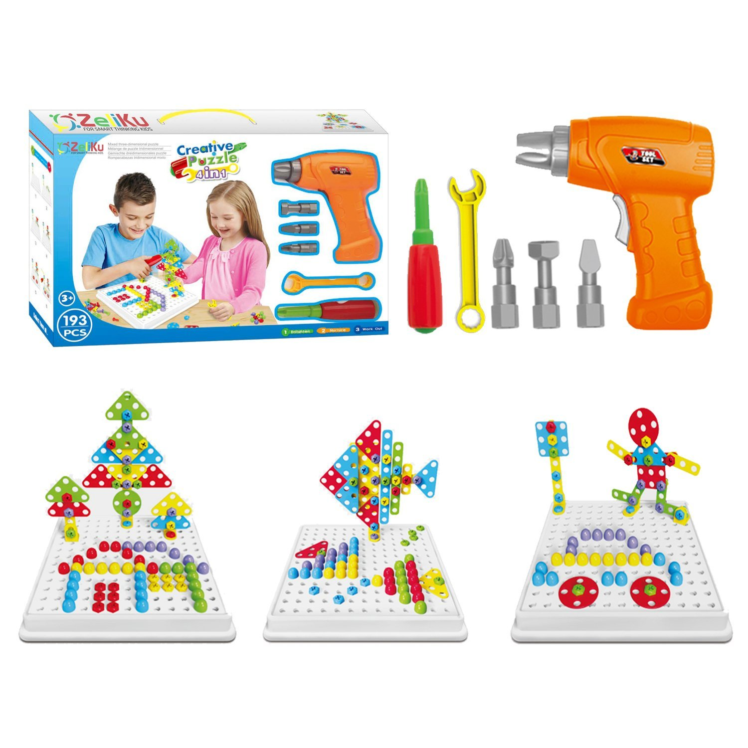 Educational Design and Drill toy Building toys set - 193 ...
