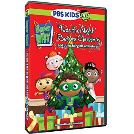 Super Why  Twas The Night Before Christmas   Other