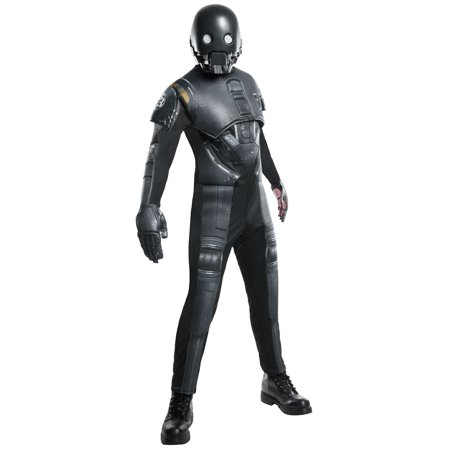 Men's Star Wars Rogue 1 Seal Droid K 2SO Deluxe Costume](Droid Costume)