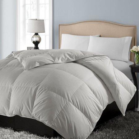 Blue Ridge 1000 Thread Count 100% Pima Cotton Cover Down Alternative Comforter Grey