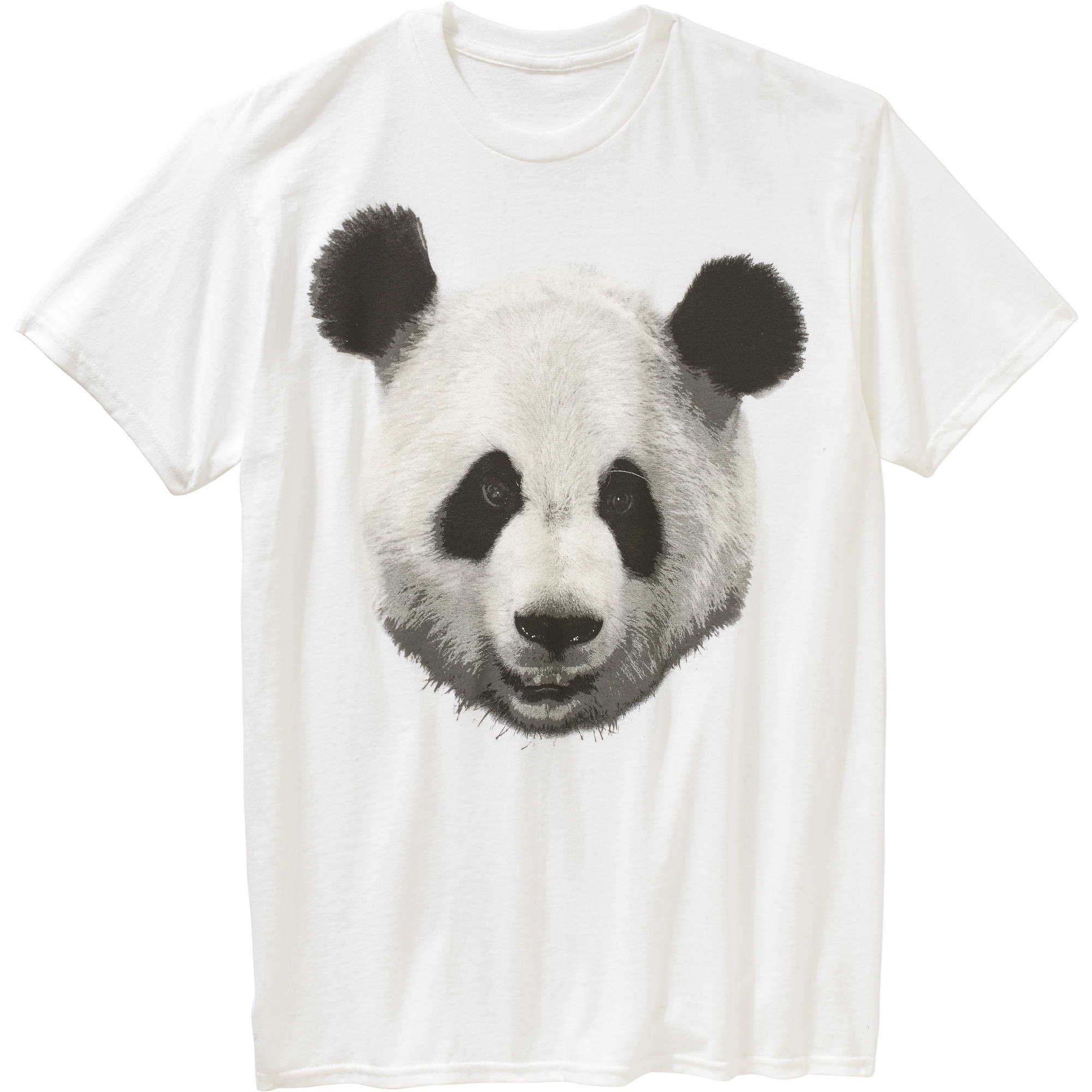 Panda Face Big Men's Graphic Tee
