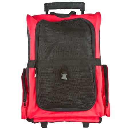 Airline Approved Travel Pet Backpack   Carrier With Wheels