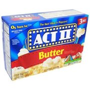 Act Ii Popcorn 3Pk Butter - 1 count only