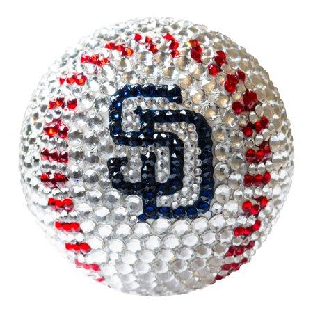 San Diego Padres Crystal Baseball - No Size