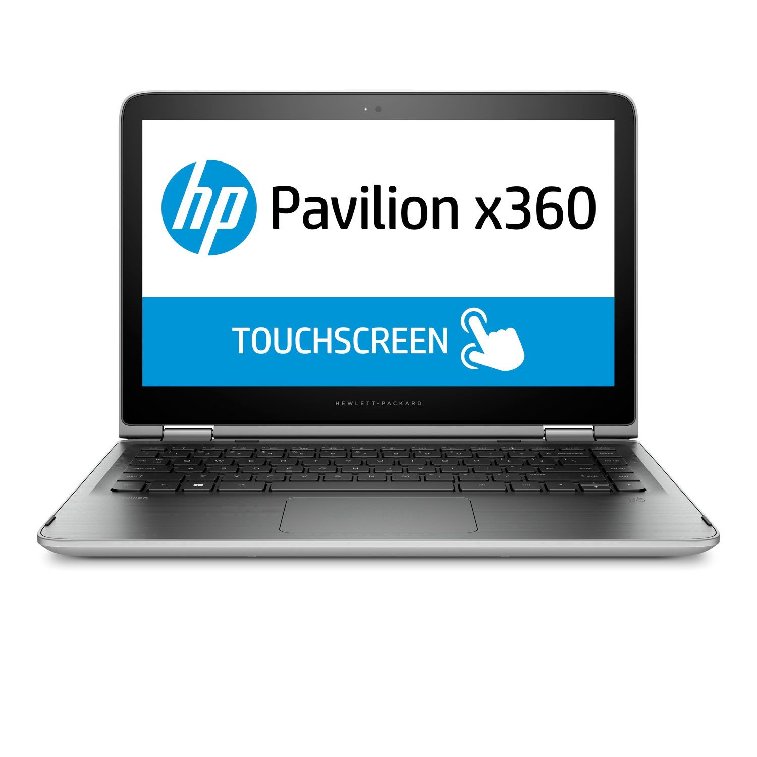 HP Pavilion - 13.3 inches - Convertible 2 in 1 - Core i3-6100U - 4GB RAM - 500GB HDD - Windows 10 Home - Silver - 13-s120nr