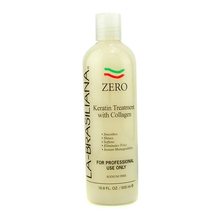 La Brasiliana Zero Keratin Treatment With Collagen 500ml 16 9oz