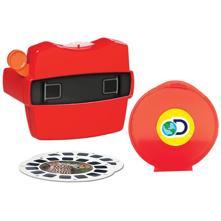View Master Discovery Box Set w/ 21 Images of 3D Dinosaurs & Other Wildlife