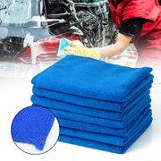 10Pcs Microfiber Cleaning Cloth No-Scratch Rag Car Polishing Detailing Towel For Computer, Desk, Home Cleaning, Or Cleaning