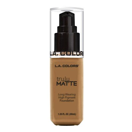 L.A. COLORS Truly Matte Foundation - Warm Caramel