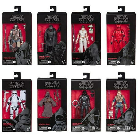 STAR WARS S2 BLACK SERIES 6 IN FIGURE AST (Styles May Vary, only 1 figure per order)