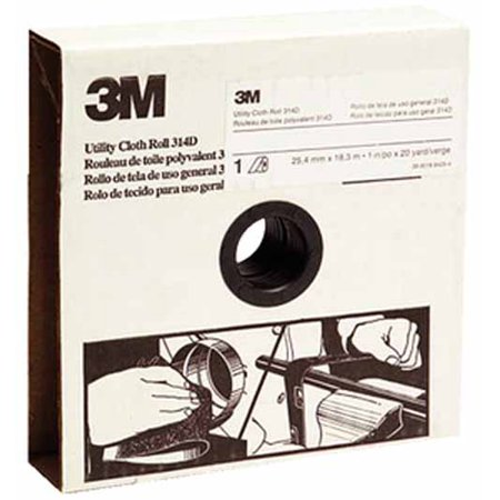 3M 00051115197925 Abrasive Roll, Cloth, P80G, -