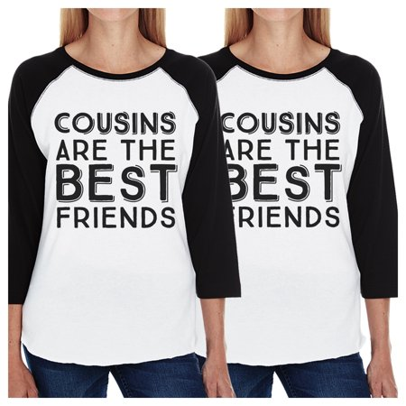 f76108e6b 365 Printing - Cousins Best Friends Funny Matching Baseball Shirts For  Siblings - Walmart.com