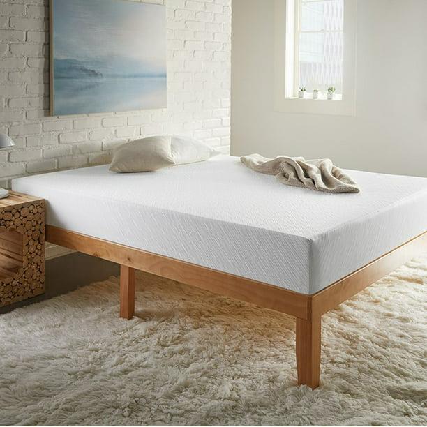 SLEEPINC. 8 Inch Gel Foam Mattress - Bed in a Box, Medium Plush
