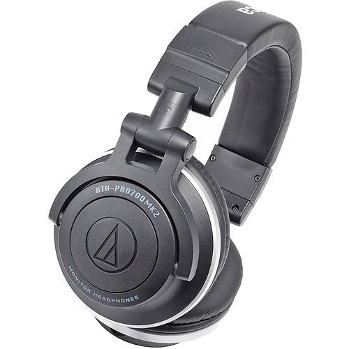 Audio-Technica Professional DJ Monitor Headphones with Dual Use Cords