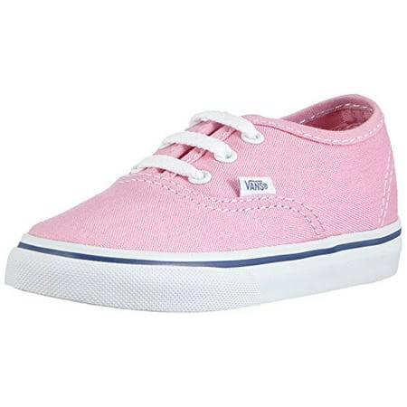 8272a131652c VANS - New Vans Authentic Prism Pink True White 7 Toddler Shoes -  Walmart.com