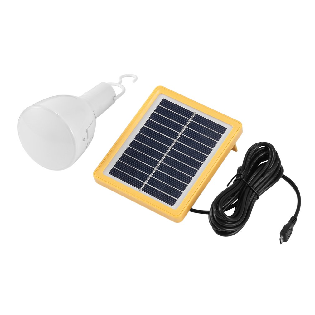 Ledspotlights Portable Solar Power 39Leds Bulb Lamp Retra...