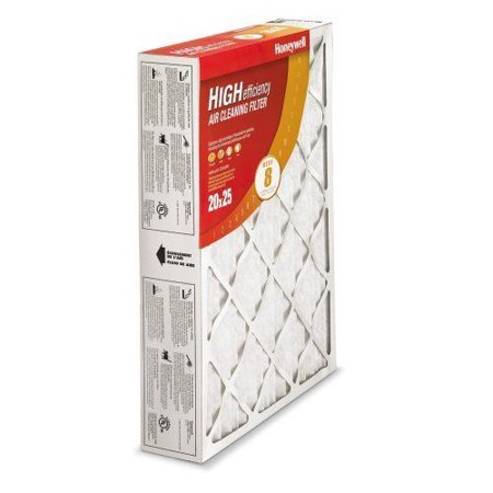 - Honeywell CF100A1009 High Efficiency Air Cleaner Filter-  16 x 25 x 4 - 2 pack
