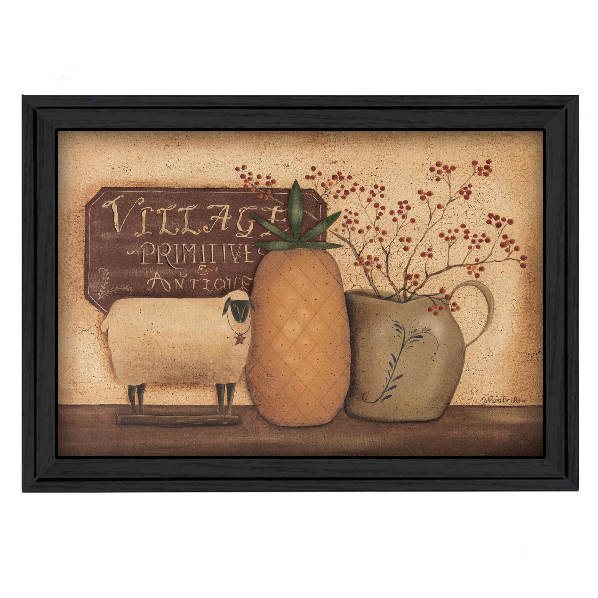 """Country Necessities"" by Pam Britton Printed Framed Wall Art - image 2 de 2"