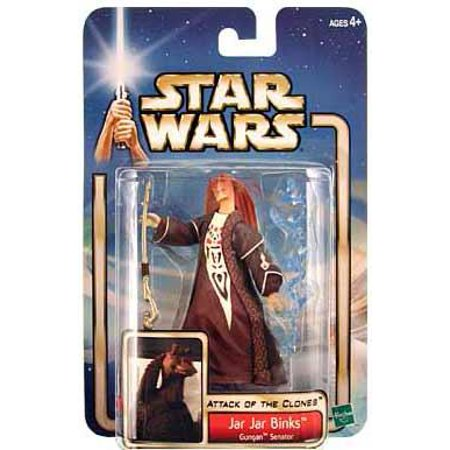 Star Wars: Episode 2 Jar Jar Binks (Gungan Senator) Action Figure