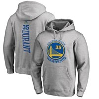 Kevin Durant Golden State Warriors Fanatics Branded Backer Name & Number Pullover Hoodie - Gray
