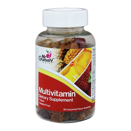 Mr  Gummy Vitamins Multivitamin Assorted Flavors Gummies, 90 Ea